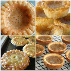 Best Butter Tarts on the Planet - Thrifty Mommas Tips - - There's something incredibly Canadian about butter tarts isn't there? Butter tarts are our favourite treats to make and share. Mini Desserts, Just Desserts, Delicious Desserts, Lemon Desserts, Plated Desserts, Oreo Desserts, Creative Desserts, Italian Desserts, Tart Recipes