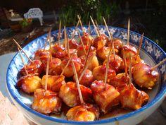 Rumaki – Bacon Water Chestnut Bundles! | Tasty Kitchen: A Happy Recipe Community!
