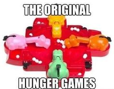 The original Hunger Games.
