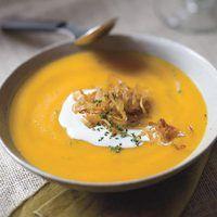 Roasted Garlic and Butternut Squash Soup My recipe: 1 butternut squash ...