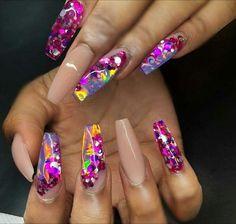 nail art and nails image Sexy Nails, Glam Nails, Hot Nails, Fancy Nails, Bling Nails, Beauty Nails, Hair And Nails, Fabulous Nails, Gorgeous Nails