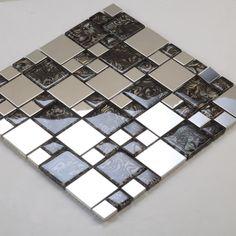 Mosaique et carrelage inox faience cuisine miroir mix for Le miroir d ambre
