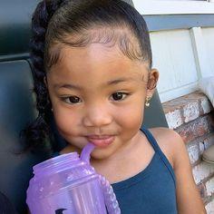 Bai (bae)✨ (@bbybailei) • Instagram photos and videos Mix Baby Girl, Beautiful Black Babies, Mixed Babies, Black Women Art, Baby Fever, Female Art, Cute Kids, Little Ones, Baby Kids