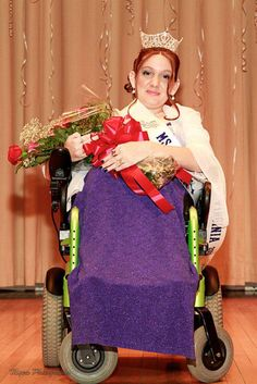 Ms. Wheelchair Virginia 2013 is Brittany Yates