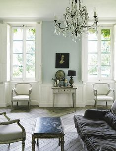 perfect wall colour - living room | french chateau