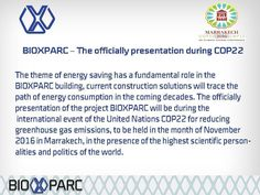 Bioxparc will be presented during COP22 in Marrakech #cop22 #biotechnology #biomed  #climatechange #Bioxparc