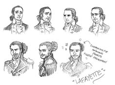Tea, Earl Grey, Hot — Song titles/sketches from Hamilton MOSTLY from Act...