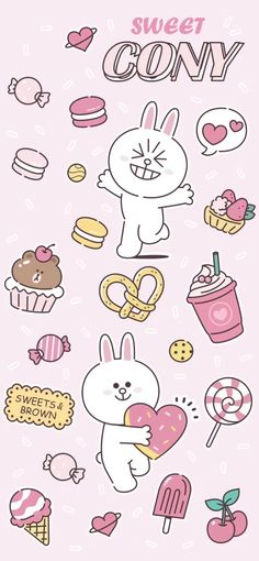 64 Ideas children art ideas mobiles for 2019 Cony Brown, Kakao Friends, Friends Wallpaper, Character Wallpaper, Line Friends, My Pokemon, Kawaii Wallpaper, Cute Bears, Step By Step Drawing