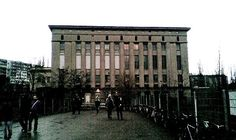 Another favourite Berlin club of mine... Berghain! Not for the faint hearted but the parties are ridiculously good! Take me back!
