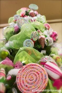 Candyland Christmas Tree