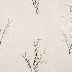 Zen Wallpaper in Ivory and Black design by York Wallcoverings ($45) ❤ liked on Polyvore featuring home, home decor, wallpaper, beige wallpaper, black wallpaper, zen wallpaper, flower stems and black home decor