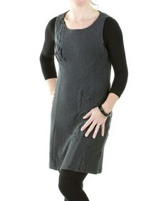 Take a look at this Steel Gray Airi Tunic by Yest on #zulily today! $30 !!
