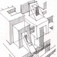 الرسم المعماري اليدوي الحر
