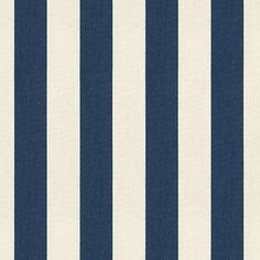 Big bold navy & sand stripes woven in washable, easy-care, Sunbrella acrylic.Content: 100% Sunbrella AcrylicRepeat: Non-railroaded fabric, 5.19 RepeatCare: Spot clean with mild soapWidth: 54 wideBecause fabrics are available in whole-yard increments only, please round your yardage up to the next whole number if your project calls for fractions of a yard. To order fabric for Ballard Customer's-Own-Material (COM) items, please refer to the order instructions provided for each product.Ba...