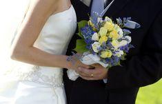 La belleza de la sencillez en este maravilloso ramo de novia.