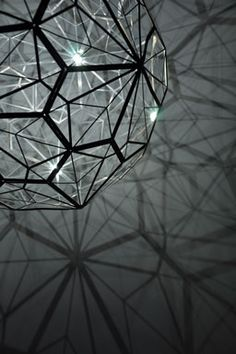 The intention was to demonstrate how mathematics, geometry and engineering can produce beautiful, balanced design. Based on the success of Light Light in Miami, Audi is now touring the installation internationally. Mathematics Geometry, Balance Design, Design Research, Tom Dixon, Lighting Design, Touring, Audi, Miami, Engineering