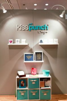 National Stationery Show 2013, Part 9 - Kiss and Punch