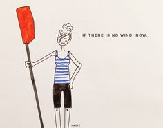 Row, row, row! By Marta Scupelli • www.stripe-me.com