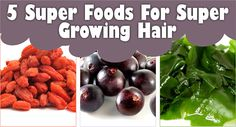 5 Super Foods For Super Growing Hair  Read the article here - http://www.blackhairinformation.com/growth/hair-growth/5-super-foods-super-growing-hair/