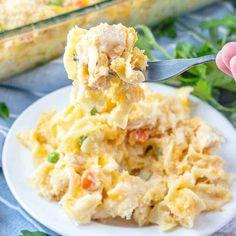 Fresco, Chicken Noodle Casserole, Zucchini Casserole, Skillet Chicken, Cream Of Chicken Soup, Canned Chicken, Cracker Chicken, White Chicken, Chicken Salad
