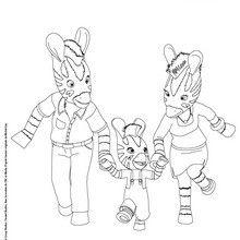 Dibujo Para Colorear Familia De Zou La Cebra Los Miembros De Hellokids Que Han Pintado Este Dibu Zou Paginas Para Colorear Paginas Para Colorear Para Ninos