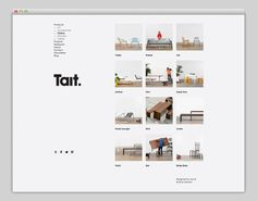 Discover more of the best Layout, Tait, Website, Grid, and Web inspiration on Designspiration Design Web, Layout Design, Print Layout, Web Layout, Site Design, Minimal Web Design, Graphic Design, Flat Design, Editorial Layout
