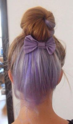 55 Ideas Hair Blonde Purple Lavender In 2020 Under Hair Color Underlights Hair Hidden Hair Color