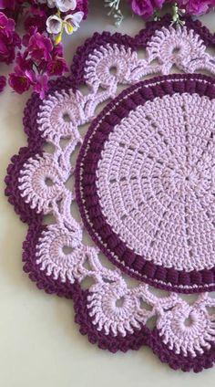 Crochet Stitches Free, Crochet Edging Patterns, Christmas Crochet Patterns, Crochet Patterns For Beginners, Thread Crochet, Crochet Motif, Diy Crochet, Crochet Flowers, Crochet Ripple Blanket
