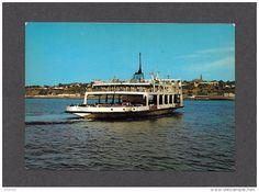 Ferries - BATEAUX - SHIPS - FERRY - ALPHONSE DESJARDINS - TRAVERSIER ENTRE QUÉBEC ET LÉVIS - PAR JC RICARD