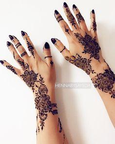 Henna Design By Fatima Arabic Henna Designs, Mehndi Designs For Girls, Mehndi Design Photos, Mehndi Designs For Fingers, Henna Designs Easy, Beautiful Henna Designs, Best Mehndi Designs, Mehndi Designs For Hands, Henna Tattoo Designs