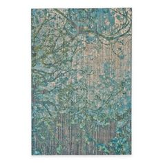 Feizy Keaton Branch Rug in Blue/Grey - BedBathandBeyond.com