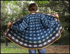 Ravelry: Project Gallery for A-shaped cardigan and tights (model pattern by Tone Takle and Lise Kolstad Thread Crochet, Knit Crochet, Extreme Knitting, Norwegian Knitting, Patterned Tights, Fair Isle Knitting, Knitted Poncho, Diy Projects To Try, Crochet Clothes
