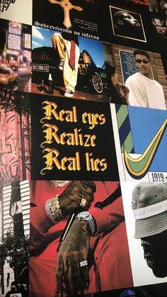 Go Wallpaper, Iphone Background Wallpaper, Tumblr Wallpaper, Trippy Wallpaper, Arte Do Hip Hop, Hip Hop Art, Collage Background, Wall Collage, Black Aesthetic Wallpaper