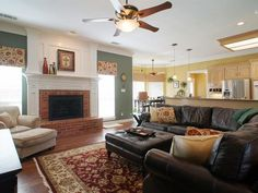Living Room Ideas With Sectionals And Fireplace