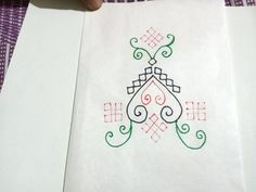 Kutch Work Designs, Embroidery, Cards, Needlepoint, Maps, Playing Cards, Crewel Embroidery, Embroidery Stitches