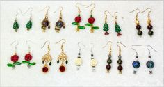 New earrings available!
