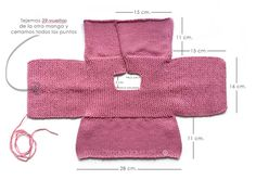 Knitted Baby Cardigan - PINK LADY - Knitting pattern with two needles and . Knitted Baby Cardigan – PINK LADY – Knitting pattern with two needles and pattern,