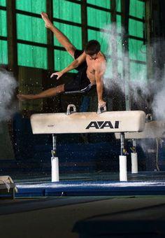 Men's Gymnastics- Woodward, PA Mens Leotard, Male Gymnast, Sport Man, Dancers, Leotards, Fitness Fashion, Sexy Men, Floor, Poses