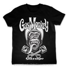 Biker Gas Monkey Garage - Kid T-Shirt  Biker Gas Monkey Garage - Kid T-Shirt         Pre-shrunk 100% cotton (will shrink slightly when dried)   Double-needle stitched neckline, bottom hem and sleeves  ..  Price: €19.90  http://www.clarabellatattoowear.com/kids-baby/t-shirts/gas-monkey-garage/biker-gas-monkey-garage-kid-t-shirt/   Don't you adore promos? Don't miss out! Claim YOUR rocking 15% discount code: http://eepurl.com/boSy7H