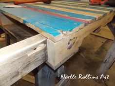 Pallet Table - how it's built