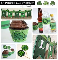 St. Patrick's Day Printables by Jen Goode - 100 Directions