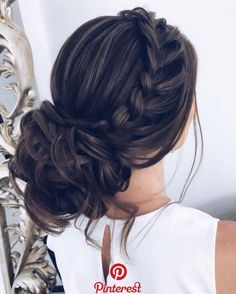 79 Beautiful Bridal Updos Wedding Hairstyles For A Romantic Bridal Fabmood Just ., 79 Beautiful Bridal Updos Wedding Hairstyles For A Romantic Bridal Fabmood Just like for all brides when the big day is approachingmany decisions have. Prom Hair Updo, Wedding Hairstyles For Long Hair, Down Hairstyles, Quince Hairstyles, Hairstyles For Brides, Hairstyles 2016, Cute Updo Hairstyles, Hair For Prom, 1930s Hairstyles