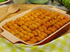 Sunny's Tater Tot Pie Casserole : Food Network Recipe | Sunny Anderson | Food Network