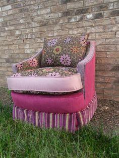 Flirty Skirt Vanity Chair « Salmagundi | Salmagundi Collection | Pinterest  | Vanities, Dressing Table Vanity And Furniture Inspiration