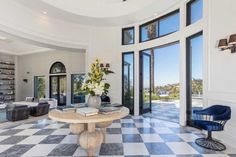 Grand Hall - Kylie Jenner's Casual $125K-Per-Month Rental - Photos