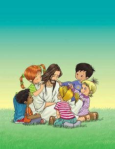 Jesus loves children :)- will use concept of characters for children