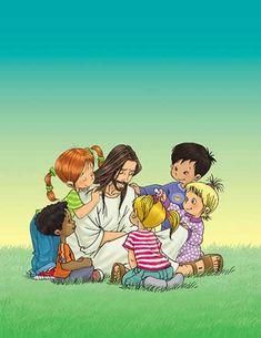 Jesus loves children :)