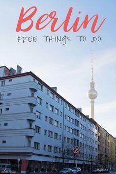 Berlin Free Things To Do   packmeto.com