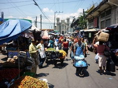 Market in San Salvador