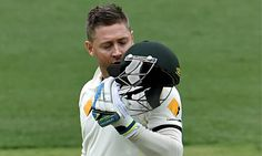 The Australia captain Michael Clarke completed an inspiring century after lunch on day two of th...